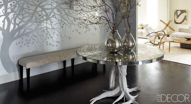 Ivanka Trump and Jared Kushner's Home - Designed by Kelly Behun - ELLE DECOR: Interior Design, Elle Decor, George Studio, Kelly Behun, Ivanka Trump S, Apartments