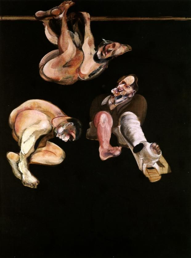 three studies from the human body :: Bacon
