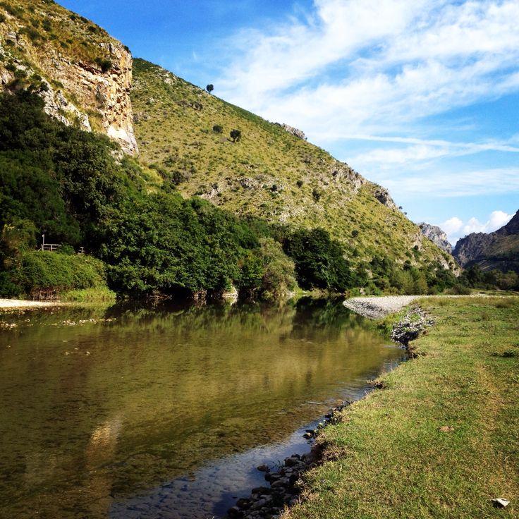 Fiume Mingardo Parco Nazionale del Cilento