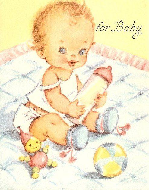 Открытки картинки младенцы, открытки днем рождения