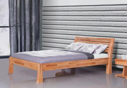 Bett Barcelona Kernbuche mit Bettkastenoption - Massivholzbetten - Betten - SCHLAFZIMMER | Möbel-Sensation.de