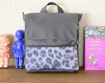 Backpack, Fabric Bag, Laptop Backpack, Gray Bag, Laptop Bag, Travel Backpack, Vegan Backpack, Canvas Bag, Leopard Bag, Eco Friendly Bag -    Edit Listing  - Etsy