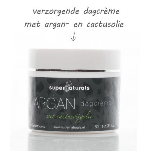Crème met Arganolie en Cactusvijgolie - 60 ml
