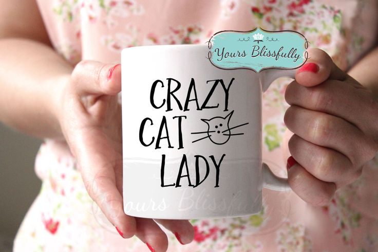 ON SALE Crazy Cat Lady Mug, Cat Mug, Cat Gift, Cat Christmas Gift, Personalised Cat Mug, Cat Lover, Gift for Cat Lover,  Cat Coffee Mug, by YoursBlissfully on Etsy https://www.etsy.com/listing/263538452/on-sale-crazy-cat-lady-mug-cat-mug-cat