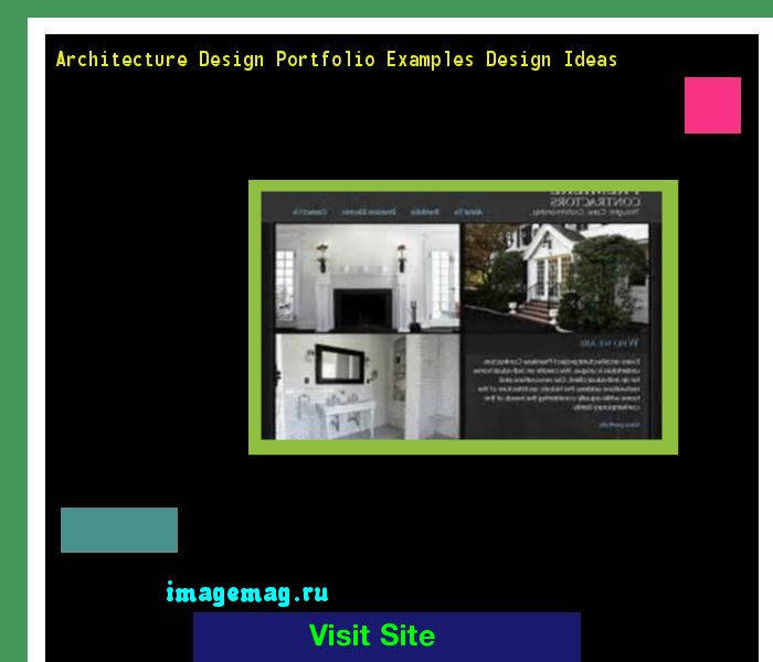 architecture design portfolio examples design ideas 075947 the best image search - Interior Design Portfolio Ideas