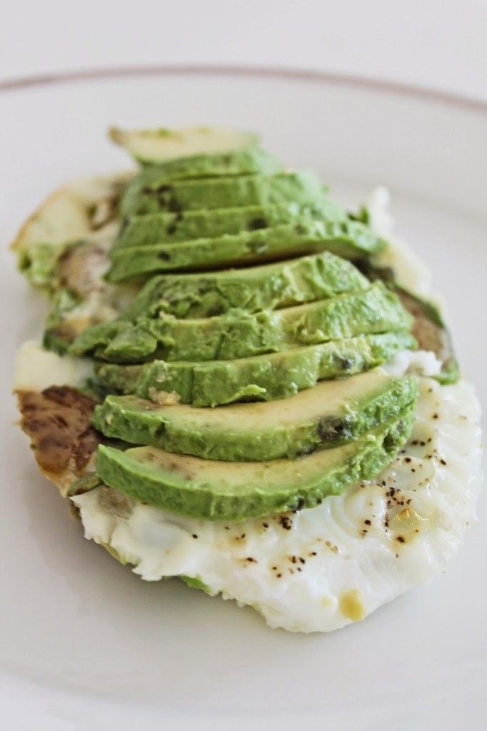 Healthy Egg White and Avocado Bake! yummers