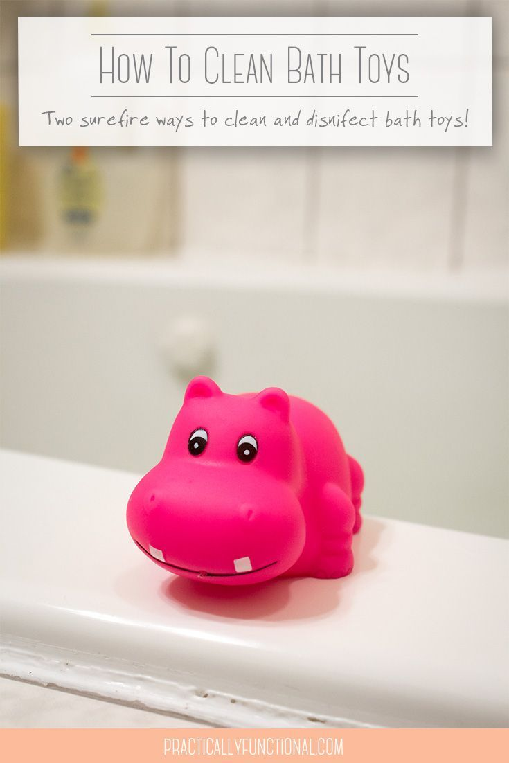 Beautiful ... 2 Surefire Ways To Disinfect Clean Bath Toys ...