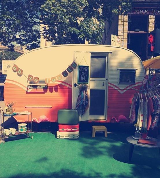 Mobile vintage shop! our-mobile-shop-oliveMobiles Shops, Vintage Trailers, Pop Up Shops, Mobile Shops, Campers, Vintage Caravan, Dreams, Vintage Shops, Mobiles Vintage