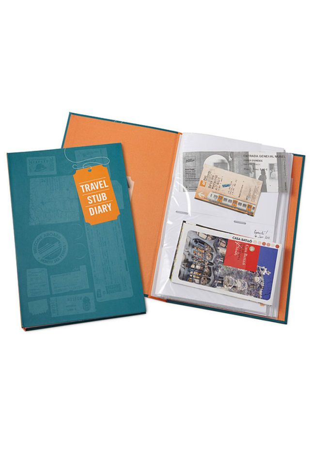 Uncommon Goods Travel Stub Diary - BestProducts.com
