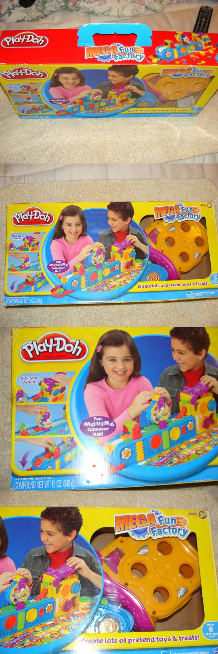 Play-Doh Modeling Clay 11740: New Play-Doh Playdoh 50Th Birthday Anniversary Mega Fun Factory Set Mold Playset -> BUY IT NOW ONLY: $265 on eBay!