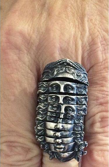 Joy Bonfield silver ring