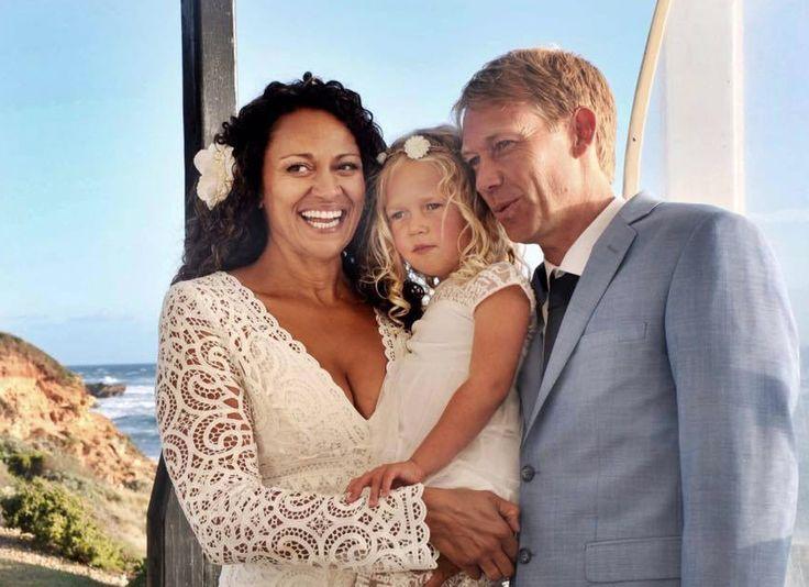 Ela se casou com o doador anônimo