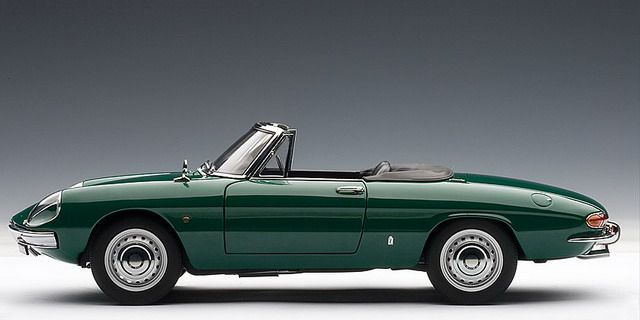 1966 Alfa Romeo Duetto - This is awesome! I love the oval shape.