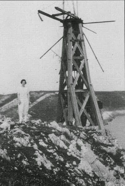 The Windmill At Caswell & The Water Supply - Mumbles at War