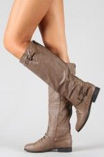 Riding Knee High Boot for $28??? Great website for boots and trendy clothes - very inexpensive
