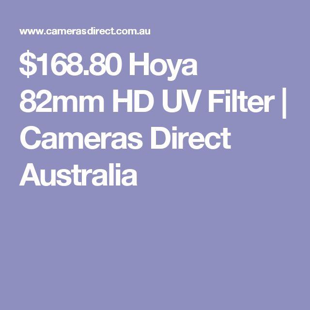 $168.80 Hoya 82mm HD UV Filter | Cameras Direct Australia