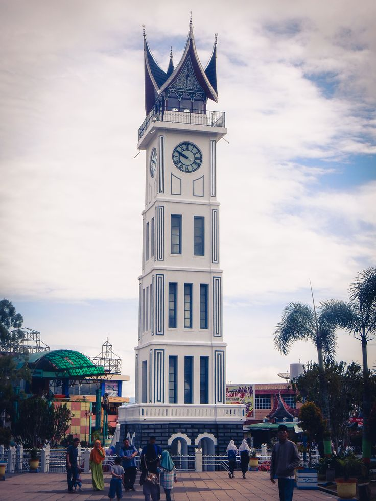 Jam Gadang Bukittinggi #Travel #Sumatra #Indonesia #JamGadang