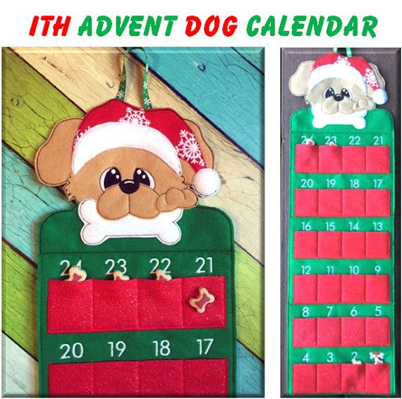 Dog Calendar Ideas : Best hmp christmas embroidery images on pinterest