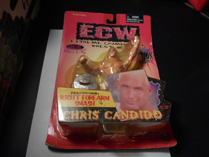 Chris Candido ECW Wrestling Action Figure NEW MOC OSFTM