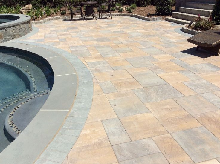 Perfect Add Color And Contrast To Your Pool Patio Today With The Help Of Cambridge  Pavingstones!