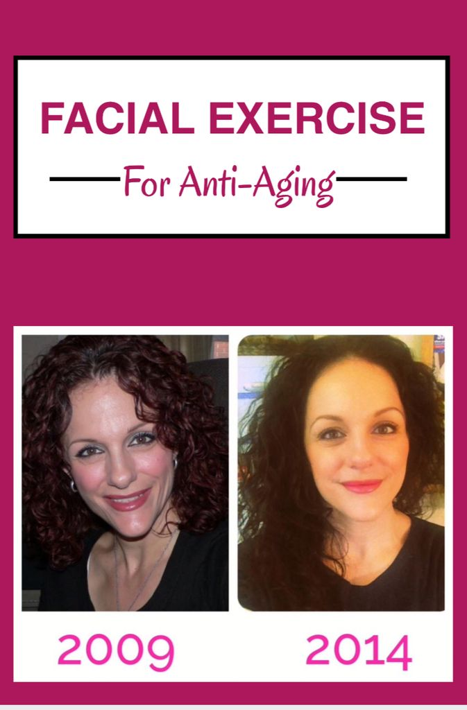 The Results of Anti-Aging Facial Exercise: Before & After Pictures