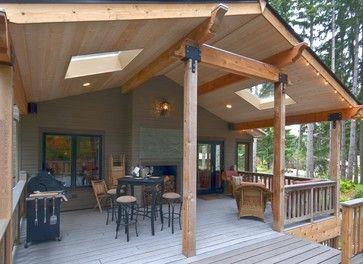 72 best images about deck on pinterest patio under decks for Second floor deck ideas