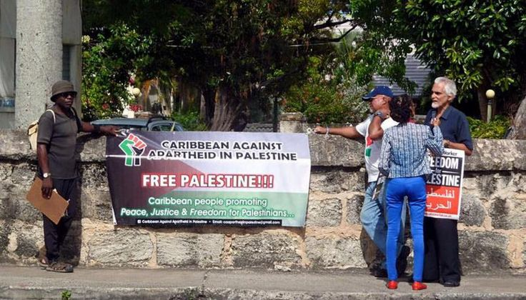 Palestine and the Caribbean