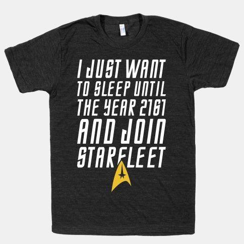 Join Starfleet   HUMAN   T-Shirts, Tanks, Sweatshirts and Hoodies