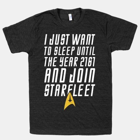 Join Starfleet | HUMAN | T-Shirts, Tanks, Sweatshirts and Hoodies