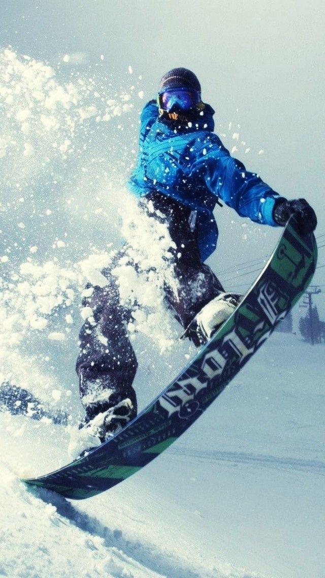 Snowboarding Winter Sports Rider Wallpaper Snowboarding