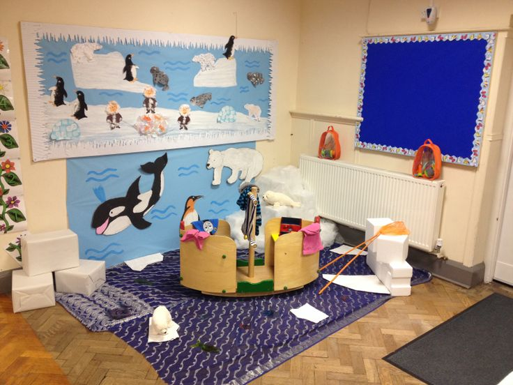 Arctic Role Play At Nursery Kids Dramatic Play