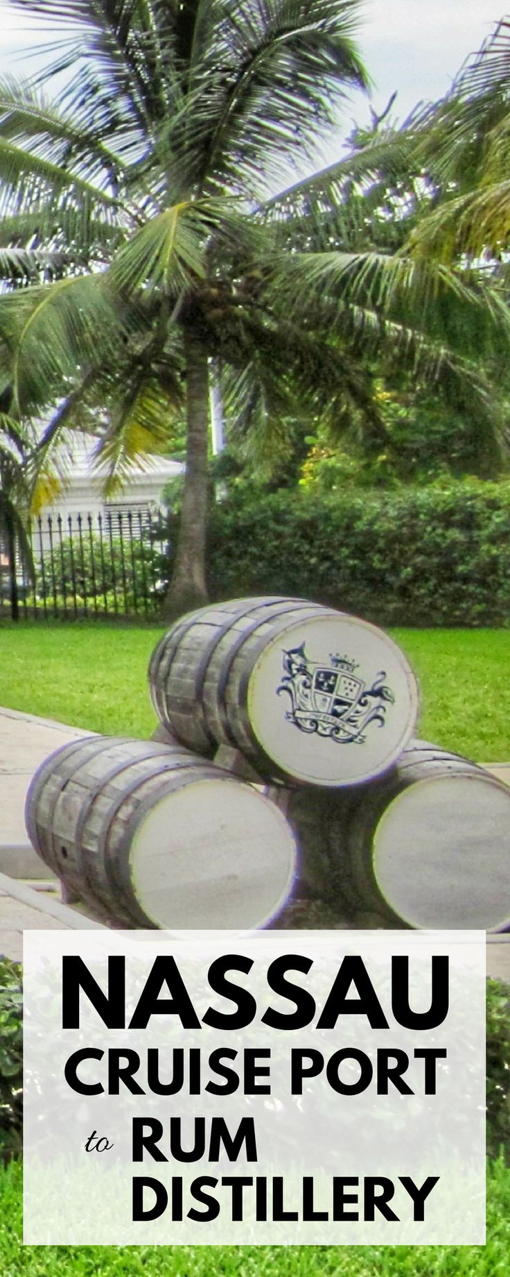 Nassau rum tour: Nassau Bahamas drinks at John Watlings rum distillery. For things to do in Nassau instead of excursions, beach, Atlantis, or Paradise Island during Bahamas cruise vacation, cruise tips and ideas for activities near Nassau cruise port with Caribbean rum factory! You won't travel far from downtown and can get a little shopping in too at mini market stands! Map of Nassau with points of interest. For what to pack for Caribbean cruise, beach outfits for the cruise packing list…