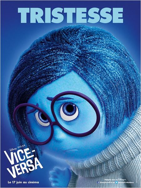 Vice-Versa (Disney Pixar) : tristesse (bleu)