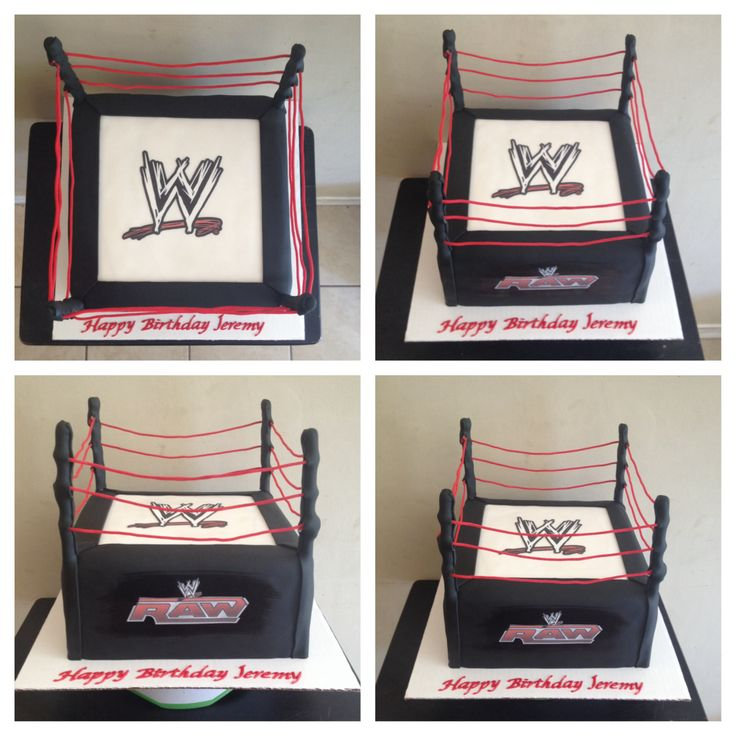 How To Make A Wrestling Cake