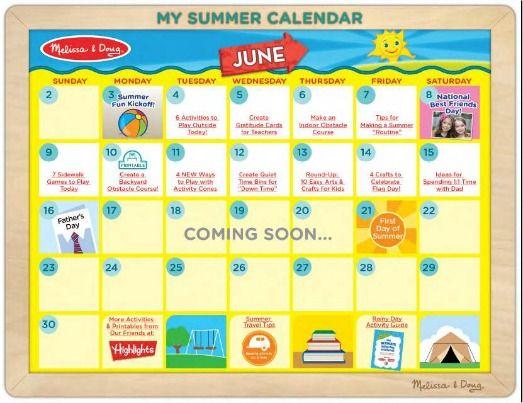 week 2 of our summer fun calendar is here get 7 new