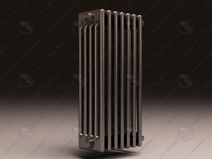 Arbonia Bank Radiator 5 3D Max - 3D Model