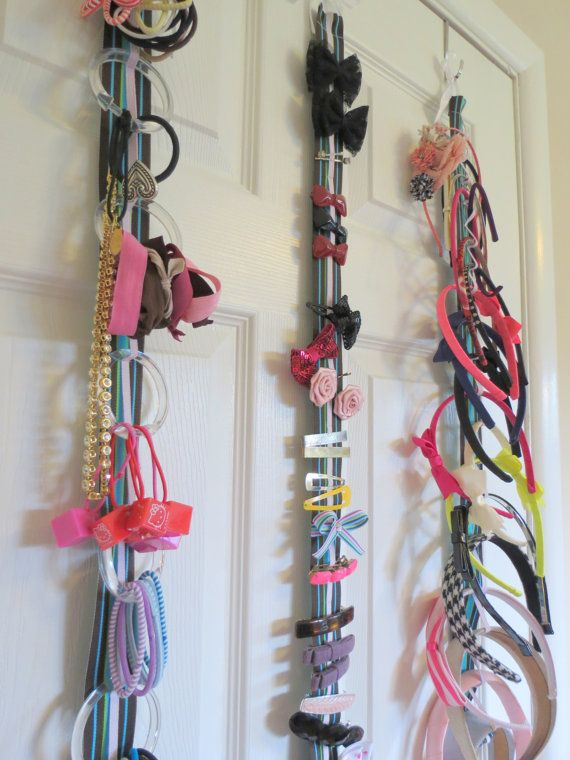 Hair Accessory Organizer System with Elastic Hair by HelloKirsti