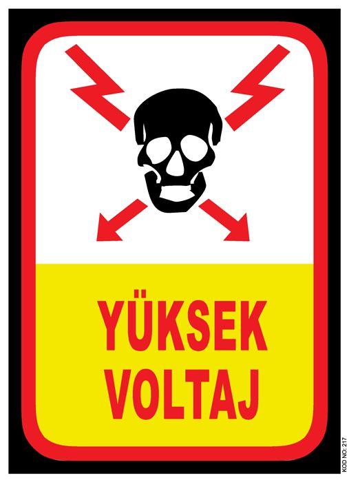 #TEKMETAL #YuksekVoltaj #Guvenlik #Levhasi #isGuvenligi Uyari-ikaz #Levhaları
