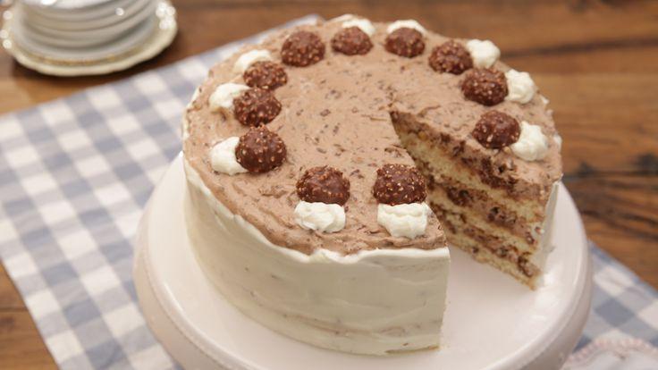 Ferrero-Rocher-Torte ohne Backen