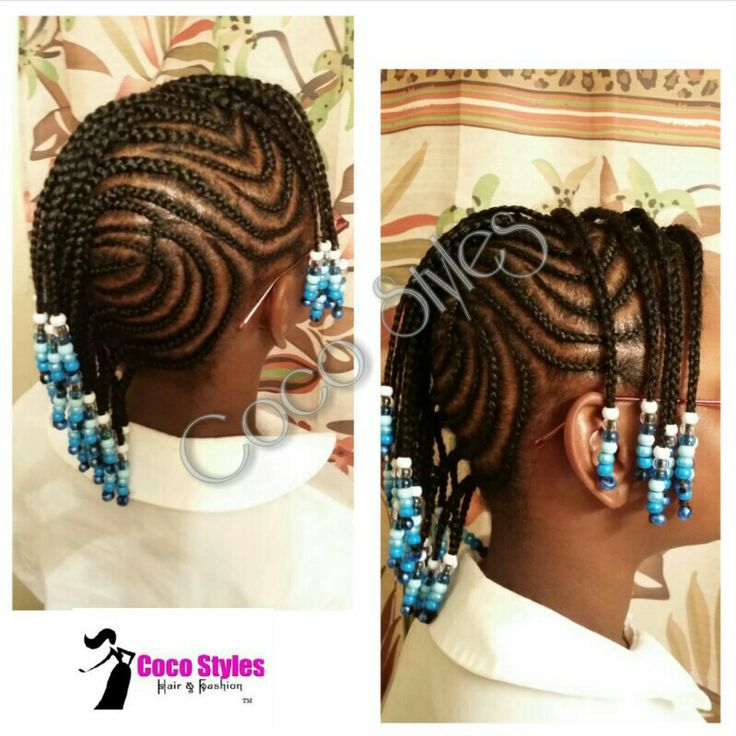 71 best images about Natural Kids: Cornrow-Mohawk on Pinterest