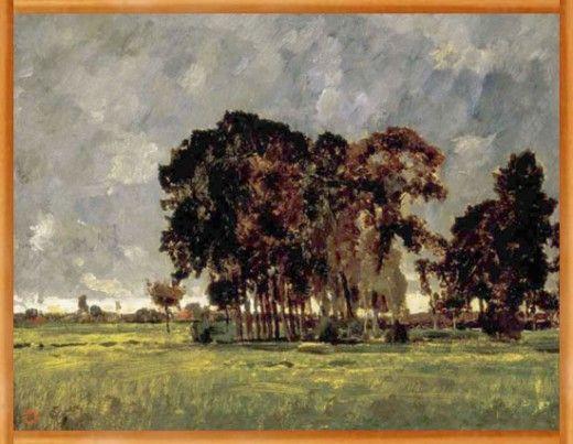 Paál László 1846-1879 magyar realista festő