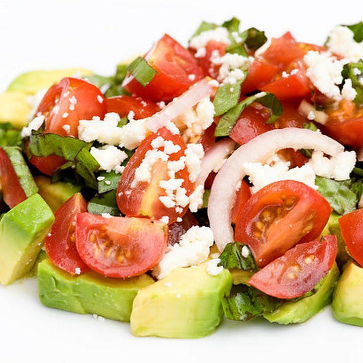 Tomato Avocado Salad Recipe