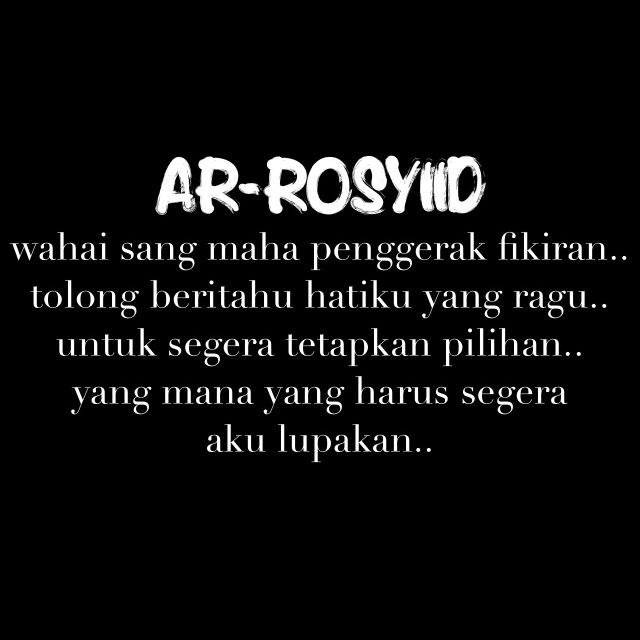 puisi ar-rosyiid