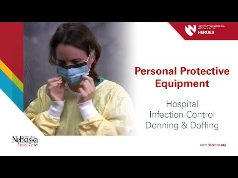 Hospital PPE - Infection Control: Donning and Doffing - YouTube