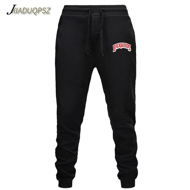Mens Pants Cotton Autumn Winter Gray Casual Funny Backwoods Printed Men Joggers Sweatpants Plus Size Black Trouser P In 2020 Mens Jogger Pants Pant Trends Jogger Pants