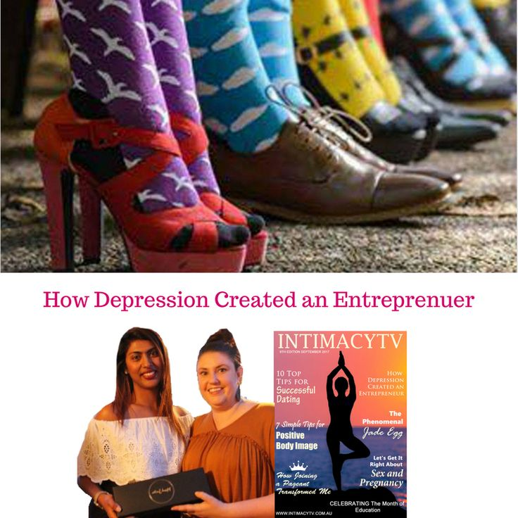 "Read on Mila and Carissa of Mindsocks' their great article on ""How Depression Created an Entreprenuer"""