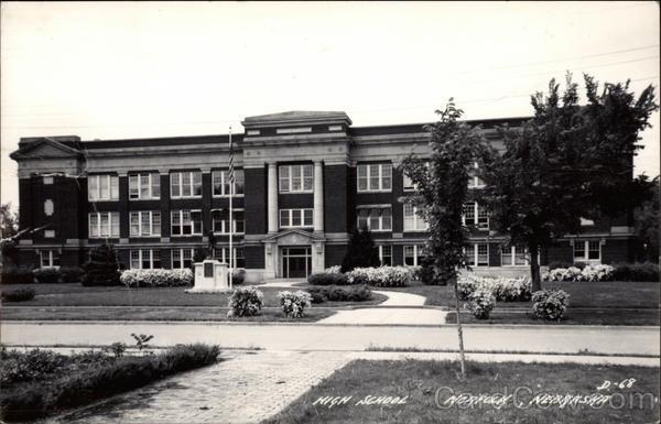 Junior Hi School when I went.View of High