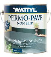 Wattyl Permo-Pave Non Slip Paint