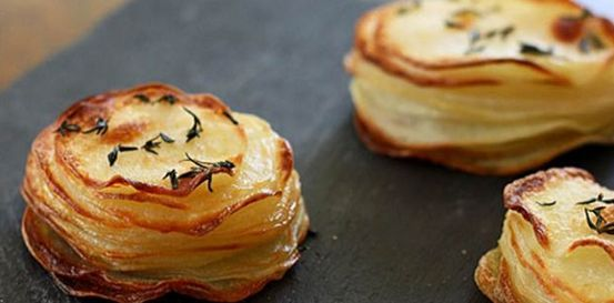 La+ricetta+della+millefoglie+di+patate,+un+contorno+perfetto: