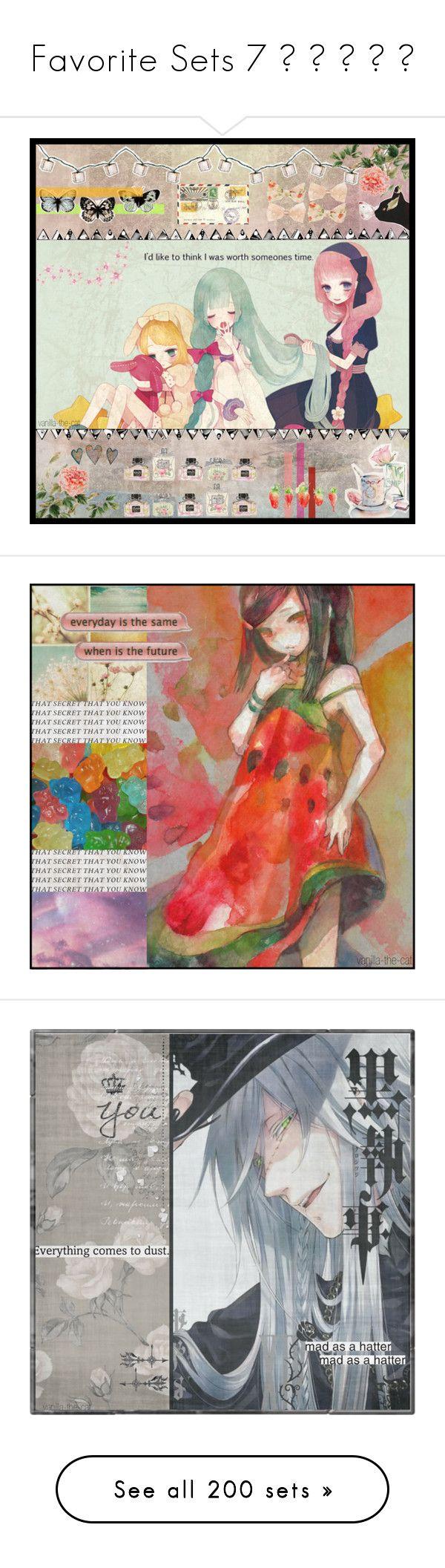 """Favorite Sets 7 ⍝ ⍛ ⍹ ⍛ ⍝"" by yellowpika-san ❤ liked on Polyvore featuring art, anime, anime naruto, free, Ash, Hobbs, Monki, ClaireChase, Pokemon and tvshow"
